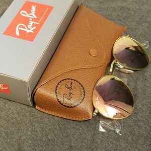 Ray Ban Sunglasses Round Flash 50mm